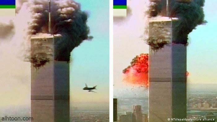 """فيديو نادر لـ""""ارتطام الطائرة"""" ببرج التجارة العالمي- صحيفة هتون الدولية"""