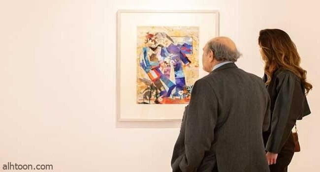 """""""معهد العالم العربي"""" في باريس يبرز الوجه الفني التشكيلي للبنان"""