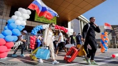 رحلات سياحية مكثفة من موسكو إلى الشواطئ المصرية