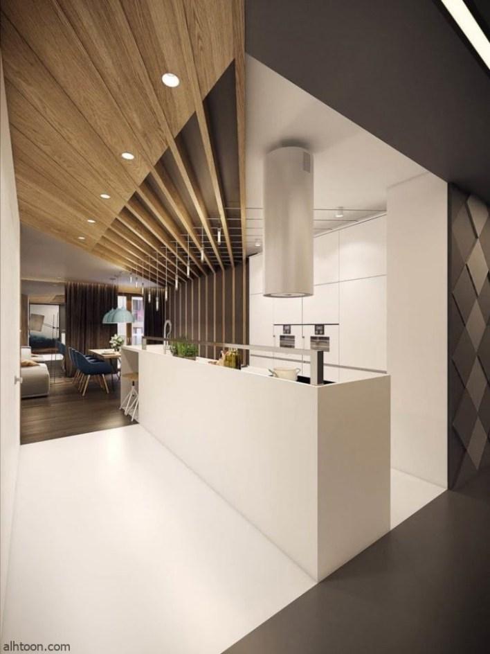 تصاميم الأسقف لديكورات مطابخ عصرية -صحيفة هتون الدولية