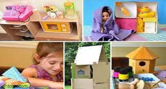 صنع ألعاب لأطفالك في المنزل -صحيفة هتون الدولية-