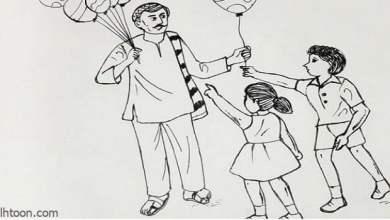 قصة ( الطالب أحمد ووالده )