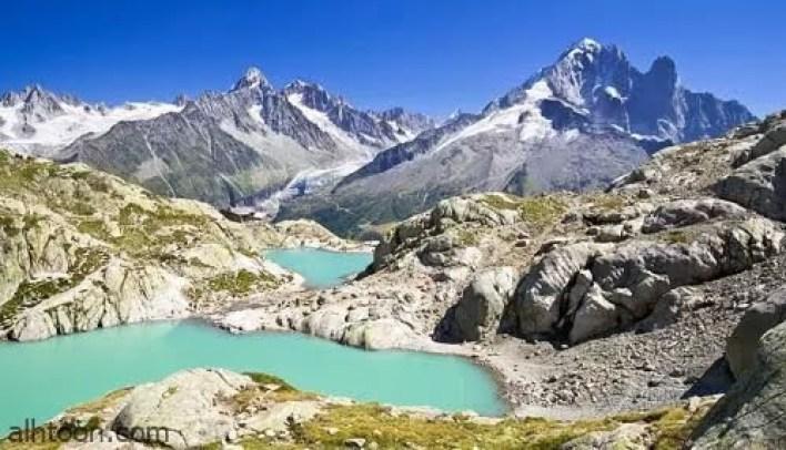 جبال الالب احد اجمل المناظر الطبيعية الخلابة فى اوروبا -صحيفة هتون الدولية-