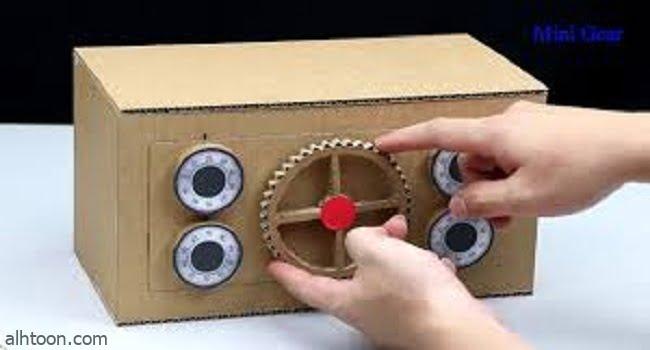 صنع ألعاب لطفلك بالورق المقوى -صحيفة هتون الدولية