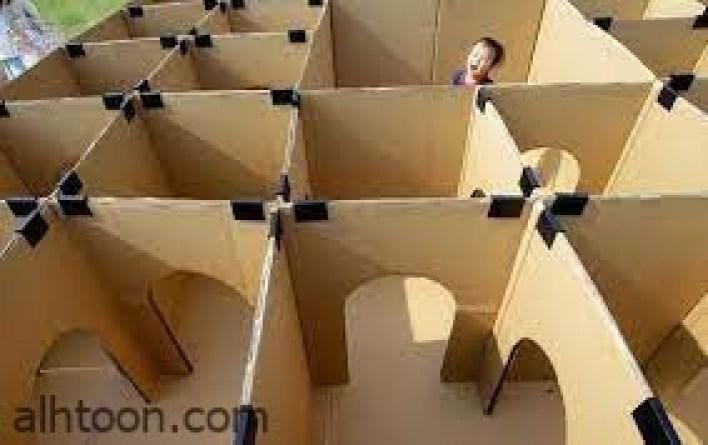 صنع ألعاب للأطفال في المنزل باستخدام الورق المقوى -صحيفة هتون الدولية