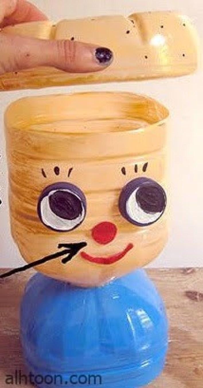 صنع دمية من قارورة بلاستيك؟   -صحيفة هتون الدولية