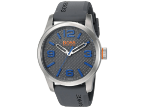 BOSS Orange Men's Paris Quartz Stainless Steel Casual Watch