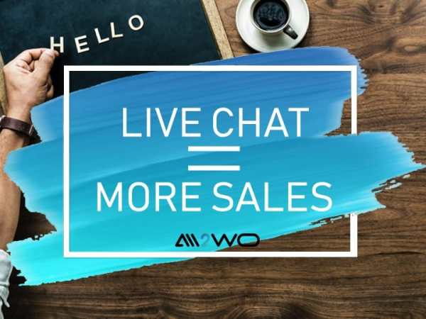 live chat more sales