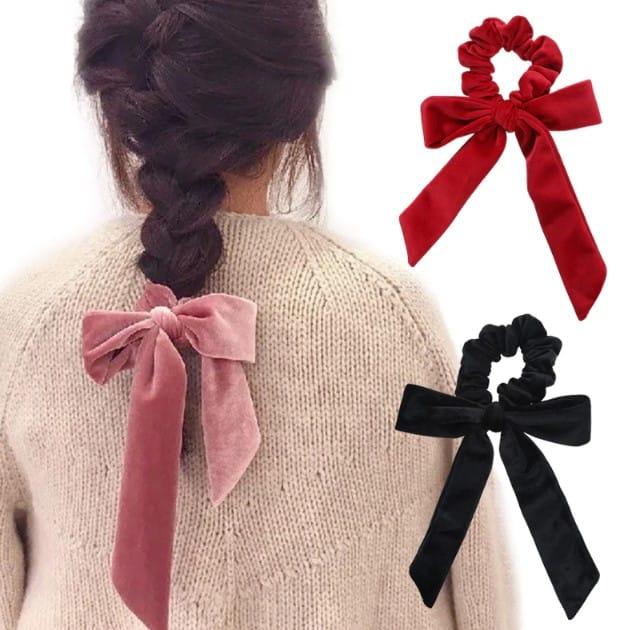 cute-girl-hair-rope-velvet
