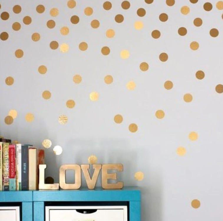gold-dots-wall-sticker