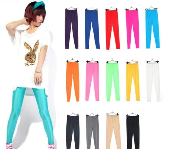 spring-solid-candy-neon-leggings
