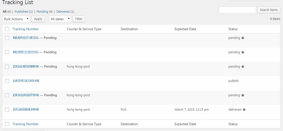 tracking-list