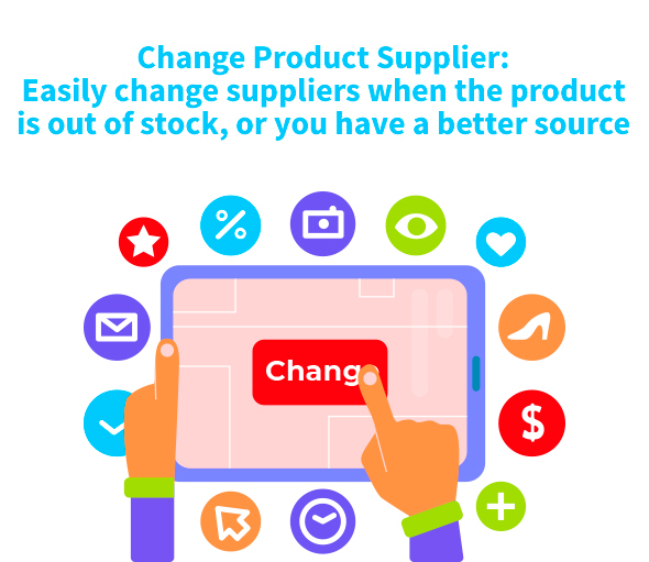 easy change product supplier