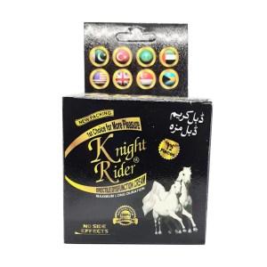 Knight Rider Erectile Dysfunction & Delay Cream + 12 Free Condoms