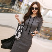 New-2015-Autumn-and-Winter-Women-Floor-Length-Dress-Casual-Hips-Long-Style-Hooded-Dress-Lady4