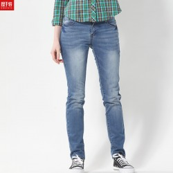 2015-Hot-Sale-Women-s-Elegant-Straight-Jeans-Female-Elastic-Denim-Trousers-Blue-Color-Class-Style-1