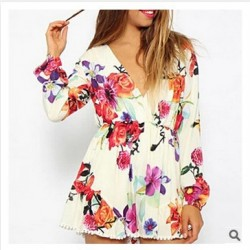 2015-New-Fashion-Women-Deep-V-Neck-Floral-Print-Jumpsuits-Long-Sleeve-Jumpsuit-Romper-Playsuit-Bodysuit-1