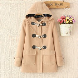 2015-The-New-Fashion-Autumn-And-Winter-Women-s-Large-Size-Thick-Casual-Horn-Button-Hooded-1