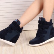 2015-fashion-Leather-Gray-Black-Pink-Blue-Brown-red-green-Women-womens-winter-Fashion-Woman-shoes-5