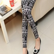 2015-new-fashion-elephant-carved-women-s-legging-Punk-Women-Leggings-Women-Mid-Leggings-Hot-Sale-2