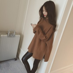 Autumn-Winter-Women-Loose-Knitted-Sweater-Oversized-Long-Sleeves-O-Neck-Tops-Outwear-Pullovers-1
