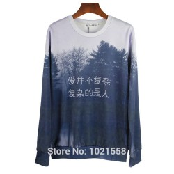 Ink-paiting-design-The-quiet-forest-When-Night-Falls-printed-3d-hoodies-sweatshirts-for-women-1