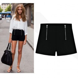 New-Korean-Shorts-Women-Thin-Candy-Color-High-Waist-Shorts-Summer-Style-Casual-Shorts-plus-size-1