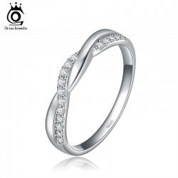 ORSA-New-Arrival-Silver-Infinity-Ring-with-Shiny-Austrian-Zircon-Crystal-Fashion-Jewelry-Ring-Wholesale-OR44-1