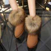 Size-35-40-Russia-Winter-Warm-Thickened-Fur-Women-Flat-Half-Short-Ankle-Snow-Boots-Plush-5