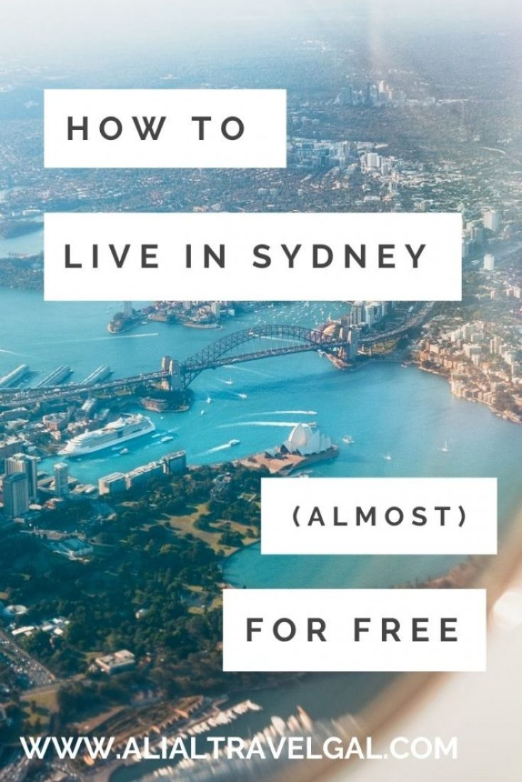 Live in Sydney Living in Sydney free things to do in Sydney