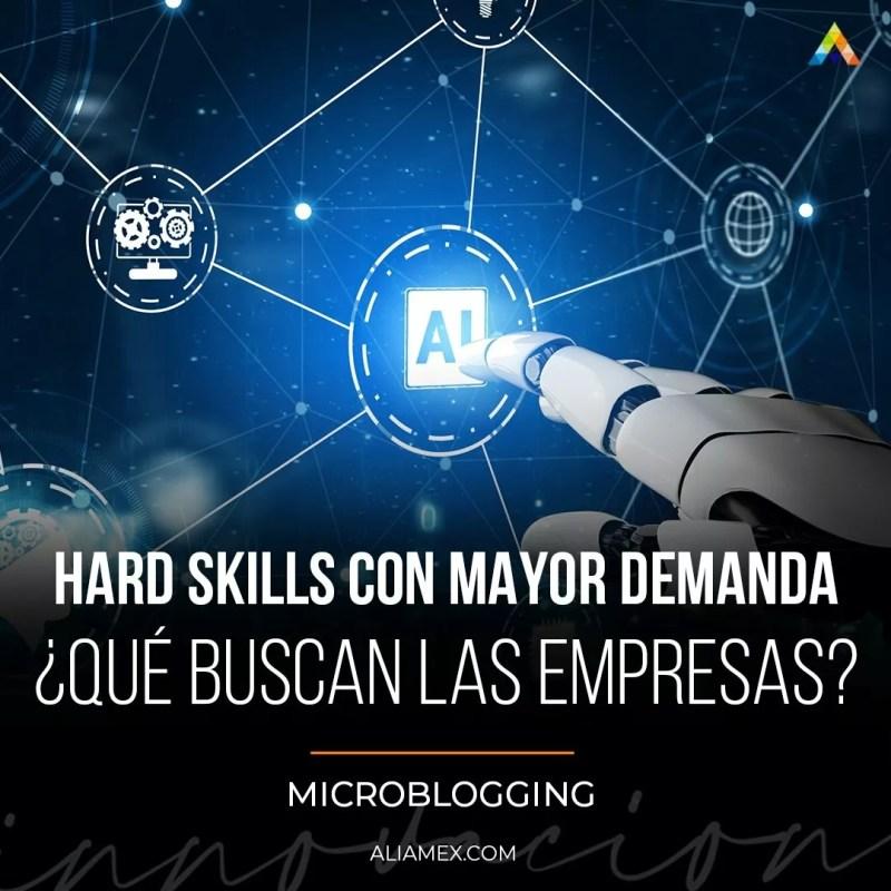 Hard skills con mayor demanda ¿Qué buscan las empresas?