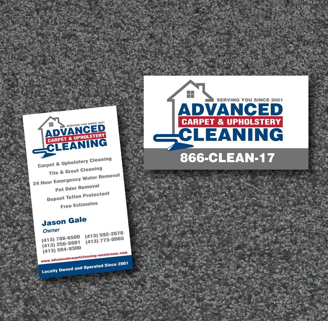 Advanced Carpet Business Card Graphic Design & Printing
