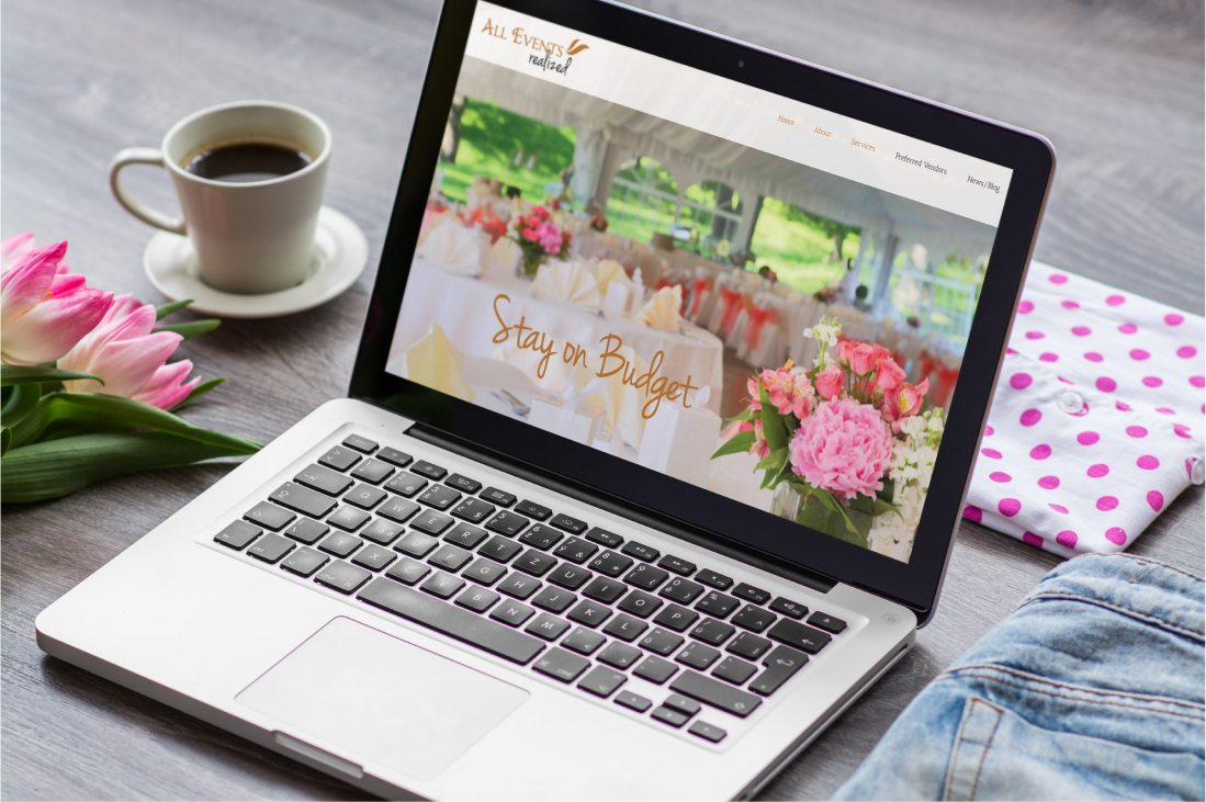All Events Realized Website Design South Hadley, MA