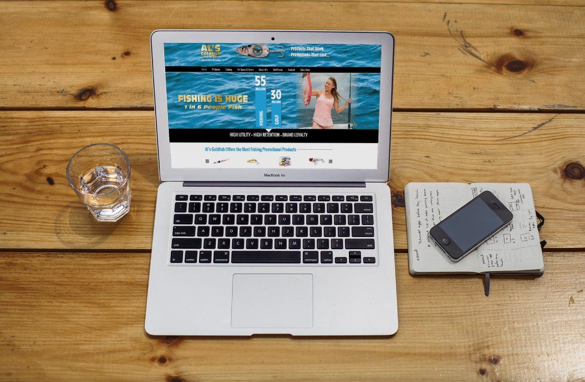 Al's Goldfish Website Design Chicopee, MA