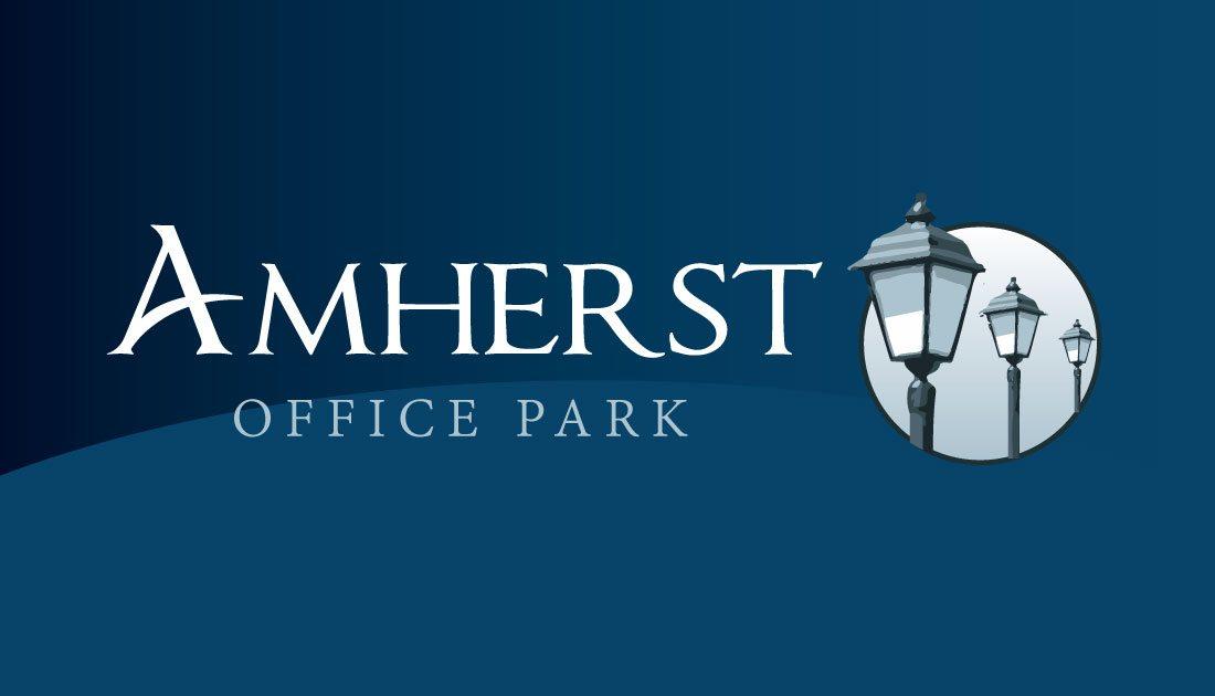 Amherst Office Park Logo Design Amherst, MA