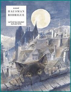 Le chat qui courait sur les toits - couverture