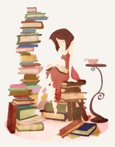 Résultat d'images pour pile de livres