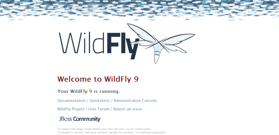 wildfly-homepage