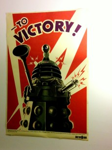 Dalek Victory Poster from The Who Shop