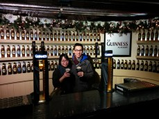 Guinness together.