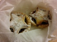 Handmade mince pies by the year 10 students in our school!