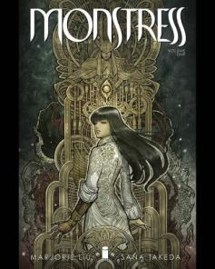 cover of Monstress by Liu and Takeda