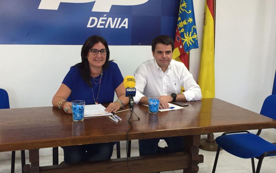 El PP denuncia los incumplimientos  de la Generalitat con la Marina Alta