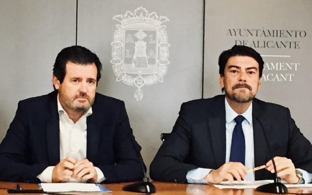 Comunicado del Partido Popular Provincia de Alicante y Grupo Popular Alicante