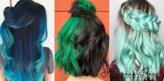 Архивы зеленый цвет волос - Журнал Элис