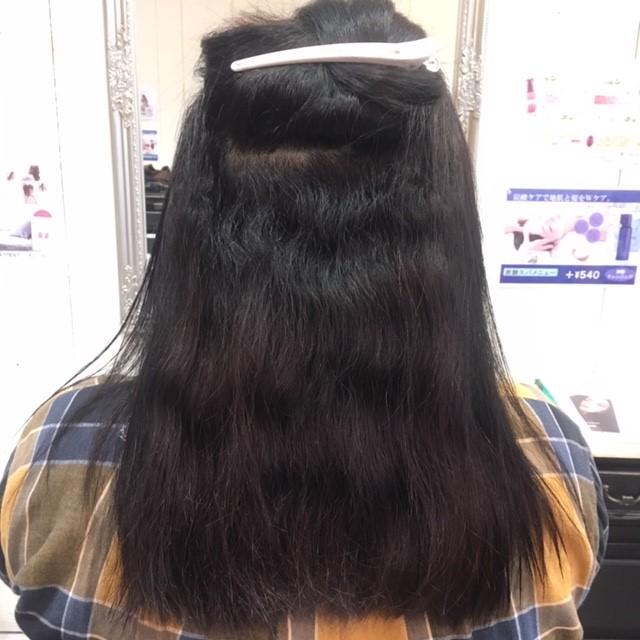 大阪吹田で髪質改善縮毛矯正
