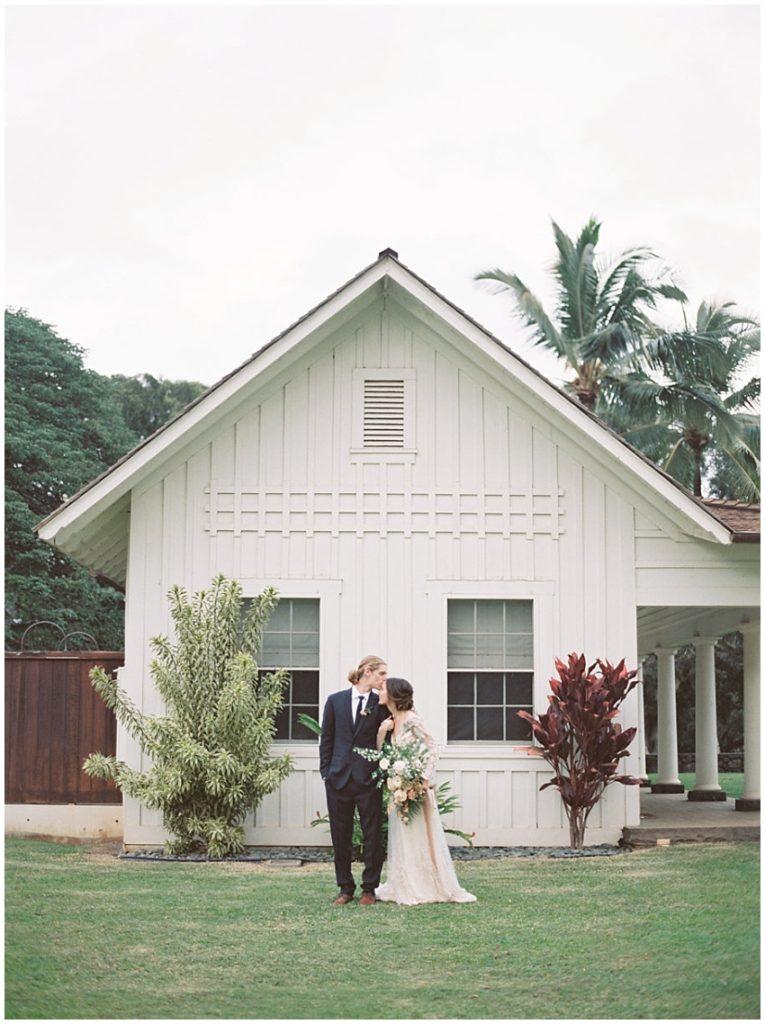 Dreamy Tropical Wedding at Dillingham Ranch, Hawaii
