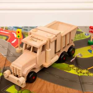 Personalised Wooden Sand Tipping Truck