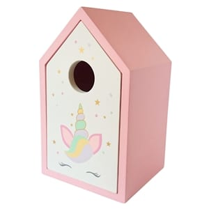 Unicorn House Shaped Storage Box