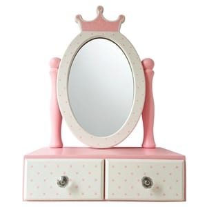 Princess Wooden Dressing Mirror